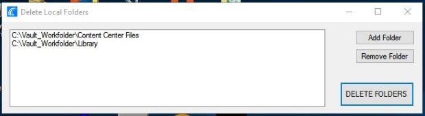 DeleteLocalFolders Main